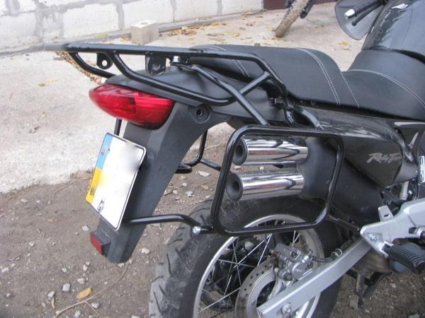 Luggage system for Honda transalp xl 650